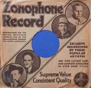 Zonophone Sleeve