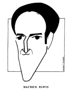 Maurice Elwin Caricature by Quirk
